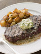 'Entrecote de Beouf' with potatoes