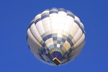 Hot Air Balloon Viewed From Below