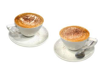 Delicious cappuccino