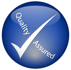 Quality Assured button
