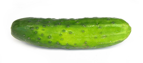 Cucumber perfect isolated on white background