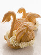 Two Choux Pastry Swans filled with Cream