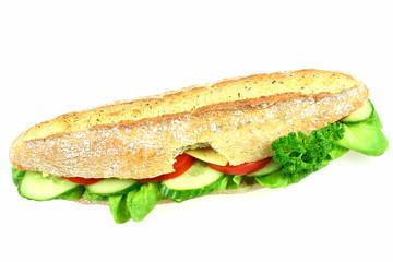 big bitten sandwich