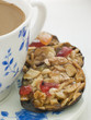 Petit Florentines with a Cup of Tea