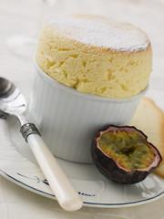 Passion Fruit Souffle