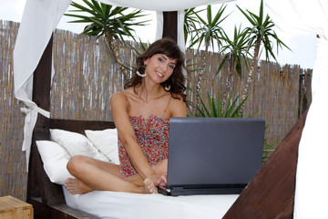 Business Modern Sexy Woman