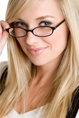 Girl Wearing Eyeglasses