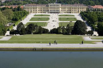 Schloss Schoenbrunn in Wien