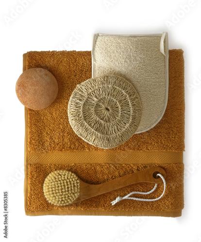 Fototapete scrubbing bath tools fototapeten aufkleber for Raumgestaltung tool