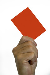 Red Card - Your Out of Here