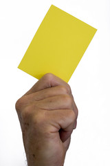 Yellow Card - Last Chance Warning