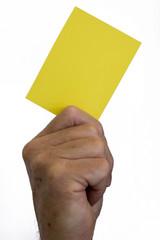 Yellow Card - Last Chance Warning