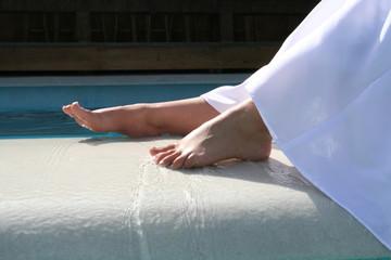 brides Feet