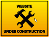 Website under Construction  poster