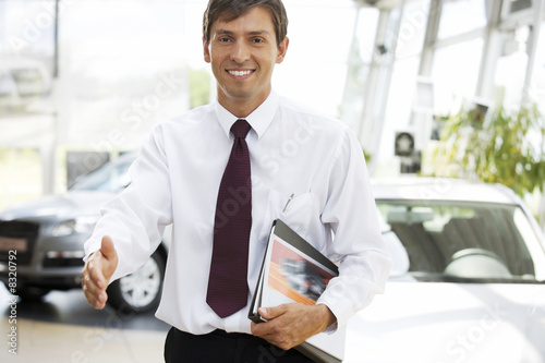 A car salesman