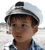 Little boy captain poster