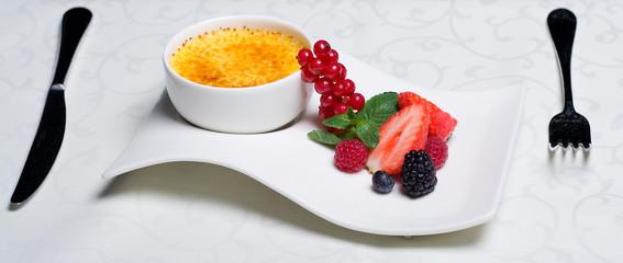 Creme Brulee - delicious dessert