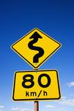 Regulation road sign poster