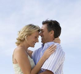 Portrait of a mature couple