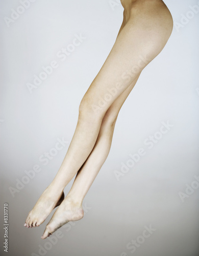 A female nude, legs