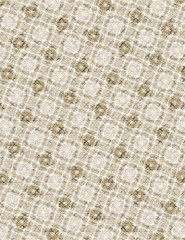 Cream Lace Squares Background
