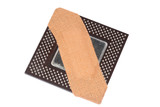processor with plaster poster