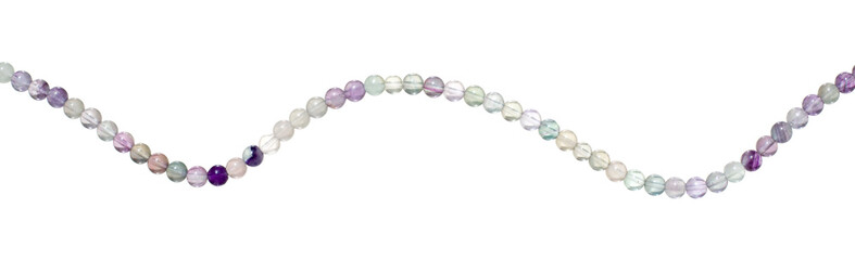 fluorite beads isolated