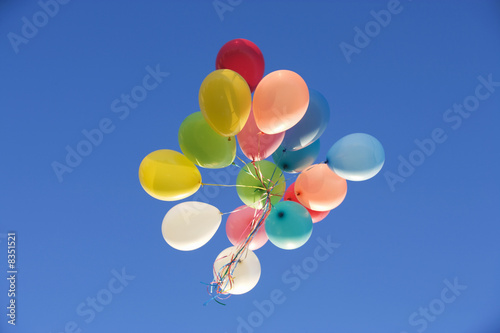 A bunch of balloons