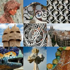 Barcelone et Gaudi en 9 photos