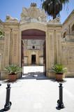 entry gate vilhena palace mdina malta poster