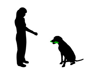 Hundetraining (Obedience), Befehl Halten!