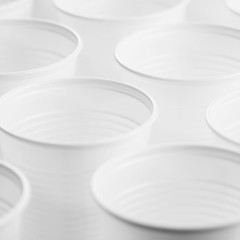 group of plastic cups