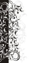 letter ornamental background