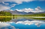Fototapeta jezioro - niebieski - Jezioro / Staw