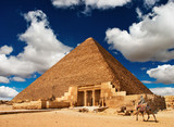 Egyptian pyramid-