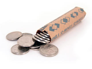 roll of nickles