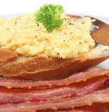 Scrambled Eggs & Bacon poster