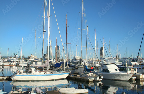 Yachts At Southport Marina Gold Coast
