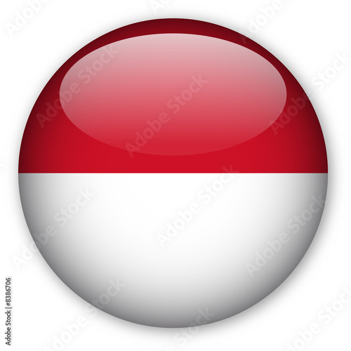 indonesian flag. Indonesian flag button