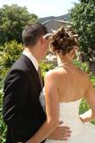 couple et coiffure de la mariée poster