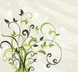 Flower design.