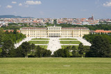 Schonbrunn palace at Vienna.