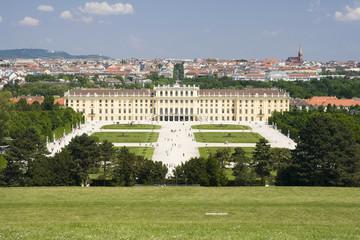 Schonbrunn palace at Vienna.