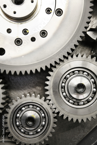 Fototapete mechanisch - optische Gegenstände - Wandtattoos - Fotoposter - Aufkleber