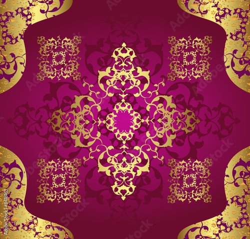 Islamic wallpaper design for