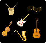 Various Musical Instruments poster
