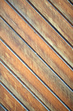 wooden diagonal plank background poster