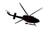 elicottero, war poster