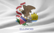 Illinois Flagge