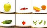 Vegetarian collage poster